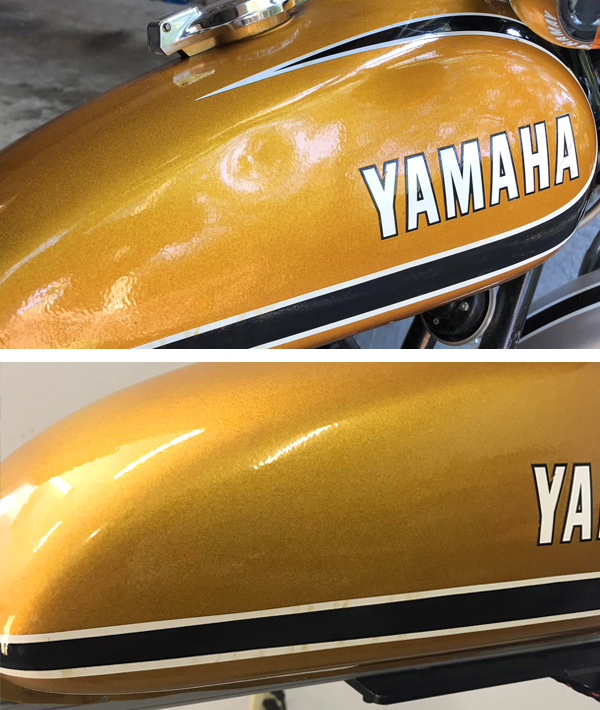 Motorcycle Dent Removal